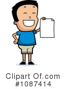 Royalty-Free (RF) School Boy Clipart Illustration #1087414