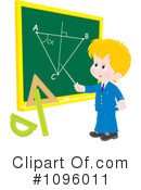 Royalty-Free (RF) school boy Clipart Illustration #1096011