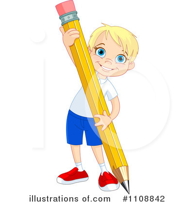 Pencil Clipart #1108842 by Pushkin