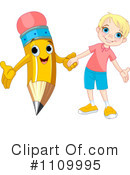 School Boy Clipart #1109995 by Pushkin