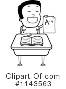 Royalty-Free (RF) School Boy Clipart Illustration #1143563