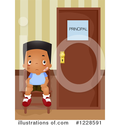 Royalty-Free (RF) School Boy Clipart Illustration by BNP Design Studio - Stock Sample #1228591