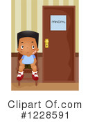 School Boy Clipart #1228591 by BNP Design Studio