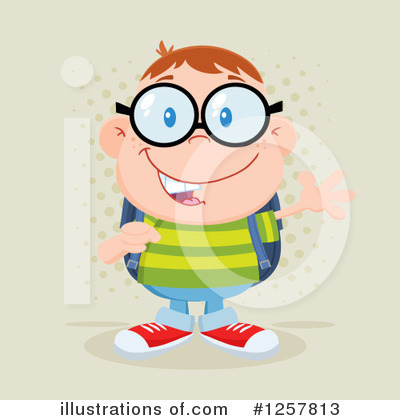 Student Clipart #1257813 by Hit Toon