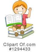School Boy Clipart #1294433 by BNP Design Studio