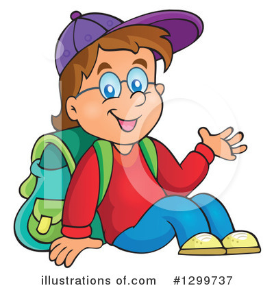 School Children Clipart #1299737 by visekart