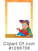 School Boy Clipart #1299738 by visekart