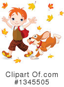 School Boy Clipart #1345505 by Pushkin