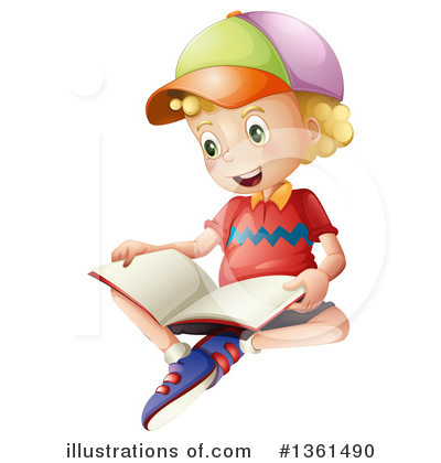 Royalty-Free (RF) School Boy Clipart Illustration by Graphics RF - Stock Sample #1361490