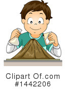 Royalty-Free (RF) School Boy Clipart Illustration #1442206