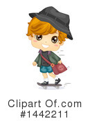 Royalty-Free (RF) School Boy Clipart Illustration #1442211