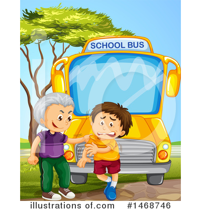 School Bus Clipart #1468746 by Graphics RF