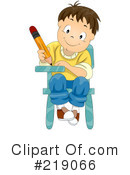School Boy Clipart #219066 by BNP Design Studio
