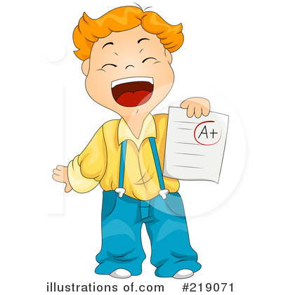 Royalty-Free (RF) School Boy Clipart Illustration by BNP Design Studio - Stock Sample #219071
