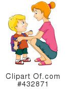 School Boy Clipart #432871 by BNP Design Studio