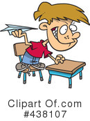 School Boy Clipart #438107 by toonaday