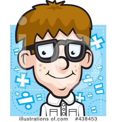Student Clipart #438453 by Cory Thoman