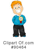 Royalty-Free (RF) School Boy Clipart Illustration #90464