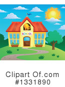 School Building Clipart #1331890 by visekart