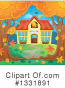 School Building Clipart #1331891 by visekart