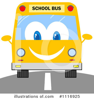 School Bus Clipart #1116925 by Hit Toon