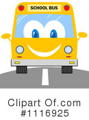 Royalty-Free (RF) School Bus Clipart Illustration #1116925