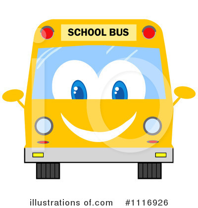 School Bus Clipart #1116926 by Hit Toon