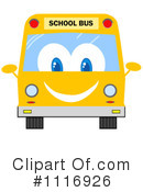 Royalty-Free (RF) School Bus Clipart Illustration #1116926