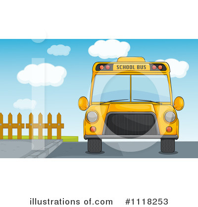 School Bus Clipart #1118253 by Graphics RF