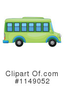 Royalty-Free (RF) School Bus Clipart Illustration #1149052