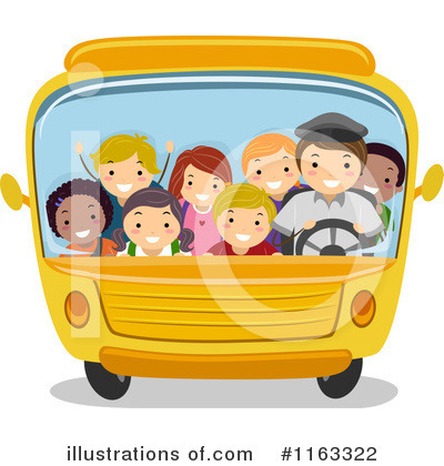 Bus Clipart #1163322 by BNP Design Studio