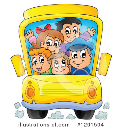 School Children Clipart #1201504 by visekart