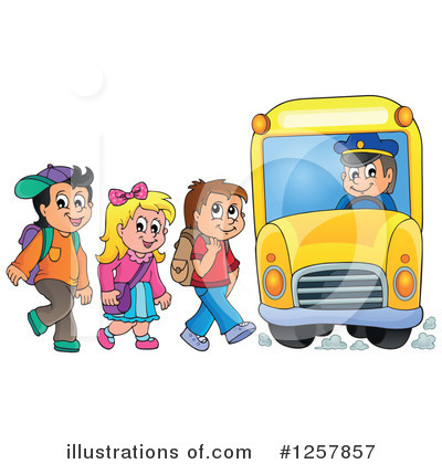 School Children Clipart #1257857 by visekart