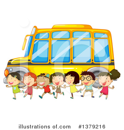 School Bus Clipart #1379216 by Graphics RF