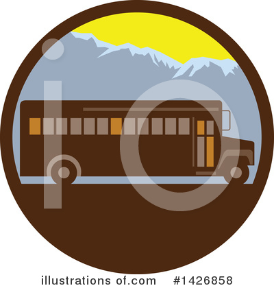 Bus Clipart #1426858 by patrimonio