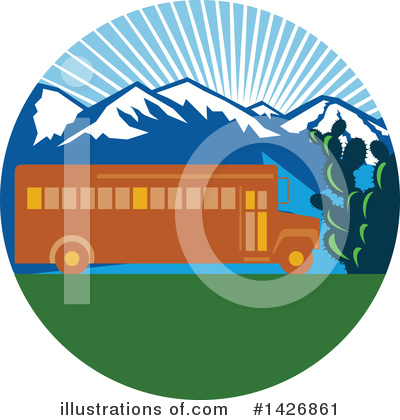 Bus Clipart #1426861 by patrimonio