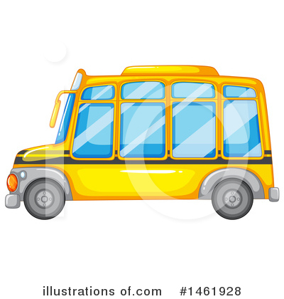 School Bus Clipart #1461928 by Graphics RF