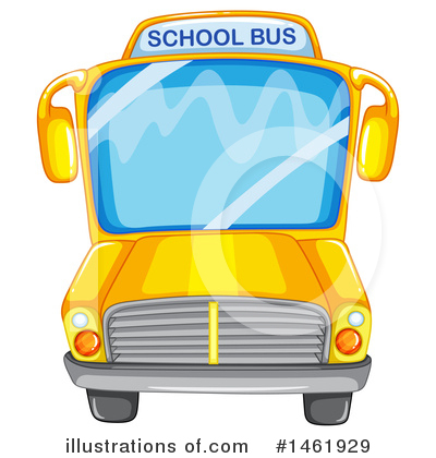 School Bus Clipart #1461929 by Graphics RF