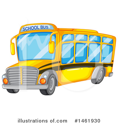 Bus Clipart #1461930 by Graphics RF