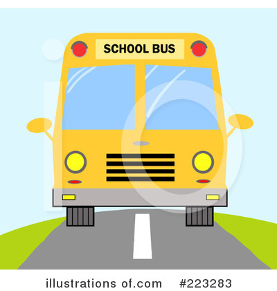 School Bus Clipart #223283 by Hit Toon