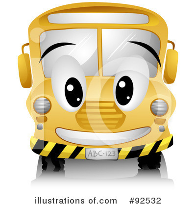 Bus Clipart #92532 by BNP Design Studio