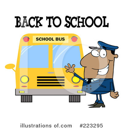 School Bus Clipart #223295 by Hit Toon