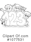 Royalty-Free (RF) School Children Clipart Illustration #1077531
