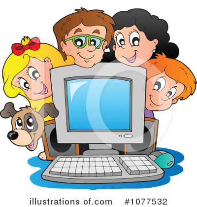 Computer Clipart #1077532 by visekart
