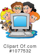 Royalty-Free (RF) School Children Clipart Illustration #1077532