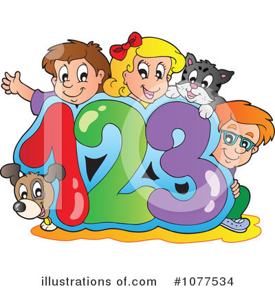 Number Clipart #1077534 by visekart
