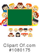 Royalty-Free (RF) School Children Clipart Illustration #1080175