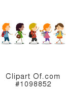School Children Clipart #1098852 by BNP Design Studio