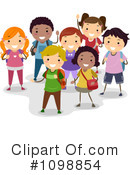 Royalty-Free (RF) School Children Clipart Illustration #1098854