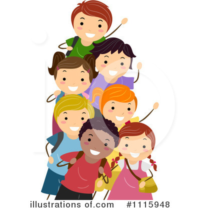 Diversity Clipart #1115948 by BNP Design Studio